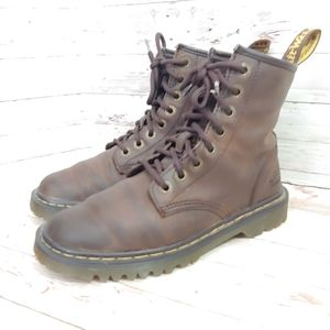 """Dr. Martens """"Awley"""" 8 eye lace up boots"""